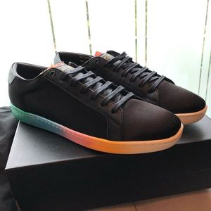 Saint Laurent rainbow sneakers